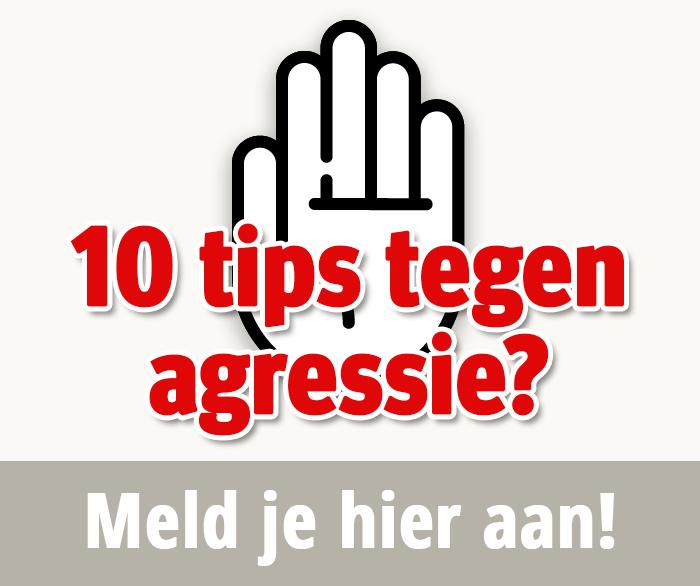 10 tips tegen agressie