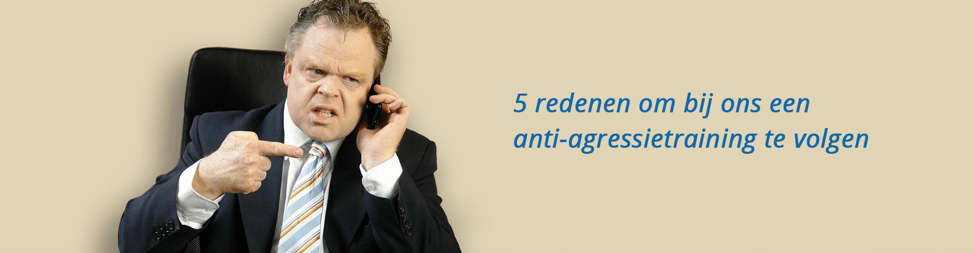 5 redenen om bij ons een anti-agressietraining te volgen